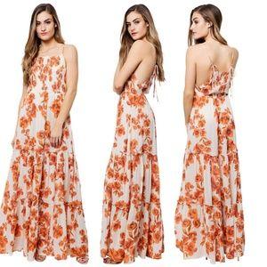 567cfb7b6 Free People Dresses | Melrose Bell Sleeve Clement Maxi Dress | Poshmark